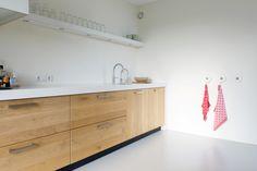keuken met wit aanrechtblad - Google zoeken