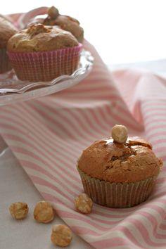 muffin con mele e nocciole