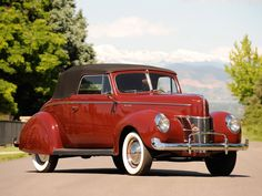 1940 Ford Deluxe Convertible Coupe..Re-pin Brought to you by agents at #HouseofInsurance in #EugeneOregon for #LowCostInsurance.
