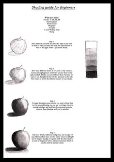 Easy shading tutorial by Rudea on DeviantArt