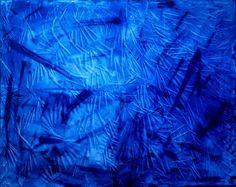 "Saatchi Art Artist Diane Cox; Painting, ""Blues"" #art"
