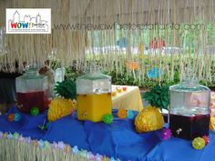 Every Luau should have refreshing tropical beverages!