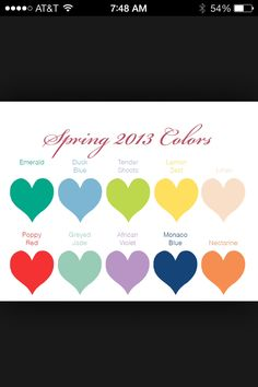 Spring Colors... Dare to pick
