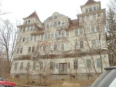 Unknown Hotel: Sharon Springs, NY by JuneNY, via Flickr - According to the flickr site this was taken in December 2011 so there is still cool stuff there to see!