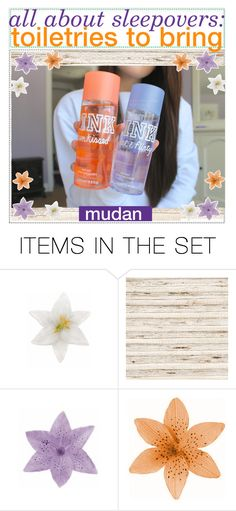 """all about sleepovers: toiletries to bring 