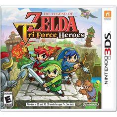 The Legend Of Zelda: TriForce Heroes [Nintendo 3DS] – Shopville