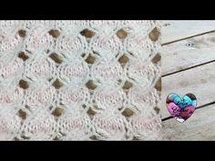Tricot Point croisé / Crossed stitch knitting (english subtitles) - YouTube Lidia Crochet Tricot, Knit Crochet, Snail Shell, Le Point, Knitting Stitches, Lana, Stitch Patterns, Crochet Necklace, Cross Stitch