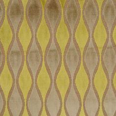 Harris Fabrics :: 'High Beam' in Citron Antique Furniture, Modern Furniture, Fashion Art, Vintage Fashion, High Beam, Fabric Wallpaper, Fabric Decor, Beams, Art Decor