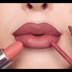 Nude Makeup, Contour Makeup, Skin Makeup, Makeup Lipstick, Lipsticks, Nude Lipstick, Prom Makeup, Eyeshadows, Bridal Makeup