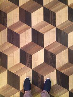 Timber Floors at The Grand Hotel Tremezzo