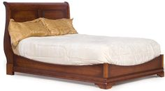 Amish Le Chateau Calais Sleigh Bed