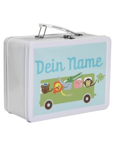 Lunchkoffer Bus (personalisiert)