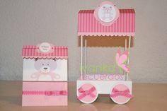 Stamping Paper: Lindo Carrito de dulces
