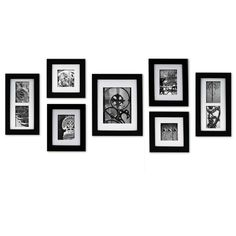 "Simply create a professional wall display with Nielsen Bainbridge's 7-piece ""Create A Gallery"" wall frame set. Each frame features usable artwork- style right out of the box. Use the frames separately, lay out your own arrangement or let one of the hanging templates create a designer inspired gallery. Horizontal or vertical display capabilities so you can better personalize your arrangement. Nielsen Bainbridge's wall grabber system ensures an easy to use hanging process. Har..."