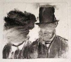 Edgar Degas - Mlle