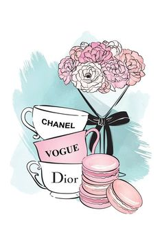 Chanel Wall Art, Chanel Decor, Chanel Art, Fashion Artwork, Fashion Wallpaper, Fashion Wall Art, Canvas Art Prints, Canvas Wall Art, Tiffany Art
