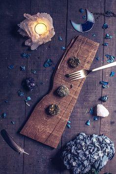 Matcha Coconut Bites // Moon Cycle Bakery
