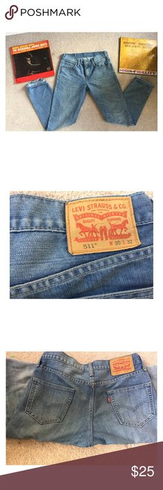 511 Levi Jeans L30 W32 Great Condition! Super comfortable! Levi's Jeans Slim Straight