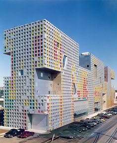 Simmons Hall at MIT by Steven Holl