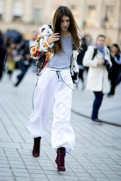100 Street Style Pictures From PFW You'll Want to Pin Immediately