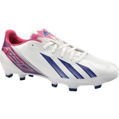 various colors f1ee5 007ea Cool adidas Womens F10 TRX FG Low Soccer Cleats - Size 6, White