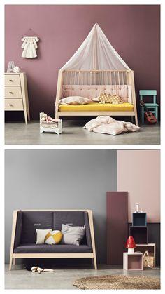 Linea by Leander - cot + toddler bed + sofa Modern Baby Furniture, Black Bedroom Furniture, Nursery Furniture, Bed Furniture, Cheap Furniture, Discount Furniture, Children Furniture, Furniture Websites, Furniture Removal