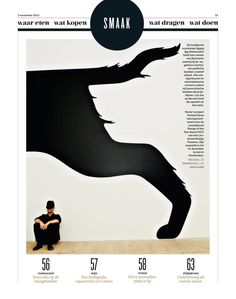 Noma Bar.   Cut it out in Volkskrant.