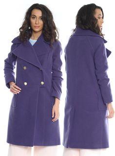 Palton dame mov din lana AM-20706 Raincoat, My Style, Jackets, Fashion, Rain Jacket, Down Jackets, Moda, La Mode, Jacket