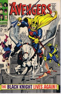 Avengers #48. www.ephemeritor.com