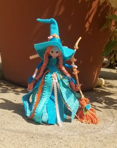 Christmas Fairy, Diy Christmas Gifts, Fairy Crafts, Diy And Crafts, Witch Dolls, Wiccan Crafts, Doll Shop, Fairy Dolls, Pagan