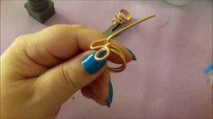 Come realizzare i nostri #anelli  con filo metallico .