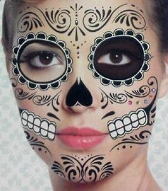 43 Best Day Of The Dead Temporary Tattoos images in 2017 | Death ...