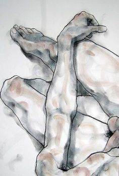 phillipdvorak:  One of my figure drawings - charcoal and pastel on paper.