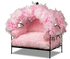 Canopy Dog Beds   Petfavors > Beds for Dogs and Cats® > Feather Canopy Dog Bed