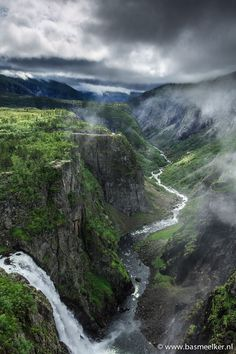 waterfall, Vøringsfossen - Norway