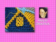 Crochê: como fazer um quadrado / Multicriativa Crochê - YouTube