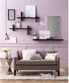Living Room Shelves Design Ideas The Spectacular Single Sofa With Smart Black Shelf As A Decoration Living Room Wall Decor Ideas Living Room Shelves, Home Living Room, Living Room Decor, Living Area, Living Spaces, Sweet Home, Decoration Inspiration, Decor Ideas, Decorating Ideas