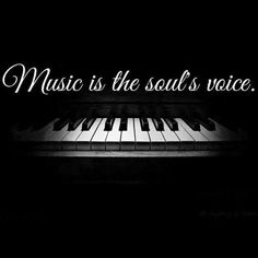 Music is the Souls voice Music Is My Escape, Music Is Life, Piano Music With Letters, Music Images, Music Heals, Music Theory, Panic! At The Disco, Sound Of Music, Music Music