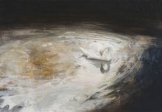 'Dragon' by John Worthington, Oil on aluminium, 8.25 x 11.75ins (21 x 30cm)