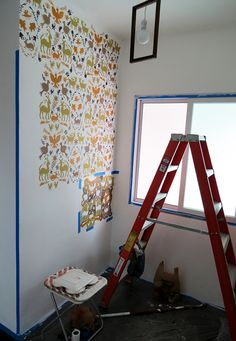 how to stencil a wall with traditional otomi patterns wall stencils from royal design studio