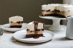 Chocolate Coffee Ice Cream Cake from Food52