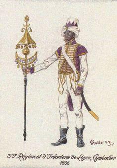 Cymbalier  33e de Ligne 1806