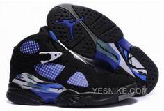54db19273a0deb Air Jordan 8 Retro Black Blue! 66.90USD Discount Jordans