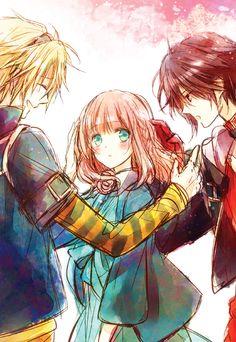 Amnesia: Memories - Toma, Heroine (MC), and Shin