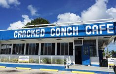 The Cracked Conch Cafe, a locals favorite!