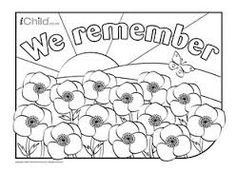 Remembrance Day Holidays Coloring Page Color Around Nov 11