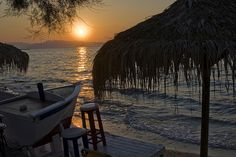 Sunset to Agistri island, Greece