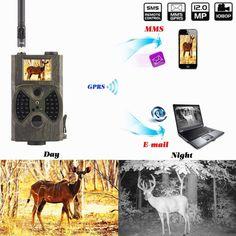 73.86$  Buy here - http://alimnu.shopchina.info/1/go.php?t=32806000294 - Oudoor animal surveillance Wild Camera Digital Hunting Wildlife Camera sms HC300M photo traps MMS hunting camera traps  #aliexpresschina