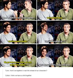 teen wolf - tyler posey and colton haynes