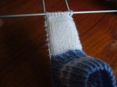tvorba - Pletené papučky - Pletené papučky 1 Socks, Ankle Socks, Sock, Stockings, Hosiery